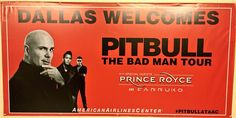 Tonight, the bad man tour comes to Dallas at AAC. Are you ready?