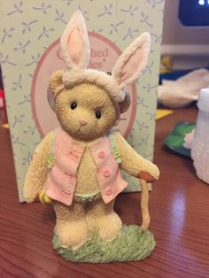 Cherished Teddies Toni Bunny Easter Bear