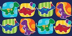 Creative Converting 725546 Border Print Plastic Table Cover 54 by 108 Little Dino Party BlueGreenPurple >>> Check this awesome product by going to the link at the image.
