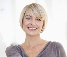can I do thinner side swept? The Best Short Haircuts for Women Over 50: Long, Sideswept Bangs