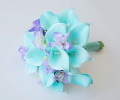 Wedding Aqua Mint Turquoise and Lilac Natural Touch by Wedideas