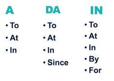 Preposition Overlap