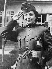 Jewish Woman of the Day. June 4th - Hannah Szenes (July 17, 1921 – November 7, 1944) was one of 37Jews from Mandatory Palestine parachuted by the British Army into Yugoslavia during the Second World War to assist in the rescue of Hungarian Jews about to be deported to the German death camp at Auschwitz. Szenes was arrested at the Hungarian border, then imprisoned and tortured, but refused to reveal details of her mission. She was eventually tried and executed by firing squad.