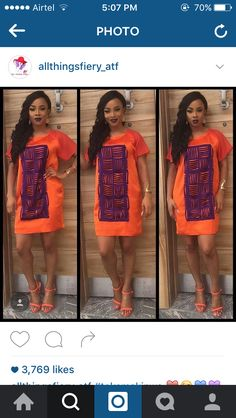 Toke Makinwa African Print Clothing, African Print Fashion, Africa Fashion, Nigerian Traditional Wear, Traditional Fashion, Short African Dresses, African Fashion Dresses, Nigerian Outfits, Nigerian Clothing