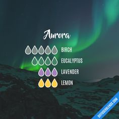 Aurora - Essential Oil Diffuser Blend