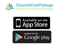 Gourmet Care Packages App Installed