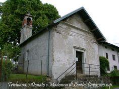 Chiesetta di San Donato e Madonna di Loreto cavassico superiore Trichiana Belluno Dolomiti Veneto Italia