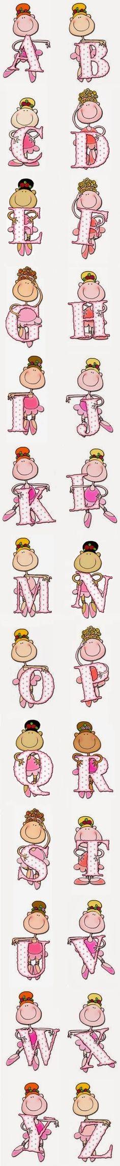 Alfabeto Bailarinas                                                       …
