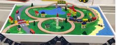 Do It Yourself Wooden Train Table…. in less than 24 hours | fox.and.hammer