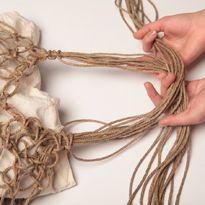 Плетение макраме: сумка-авоська. Шаг 9