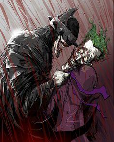 The Batman Who laughs vs. The Joker Batman Metal, Batman Dark, Joker Batman, Joker Art, Dc Comics Characters, Dc Comics Art, Anime Comics, Marvel Comics, Dark Knights Metal