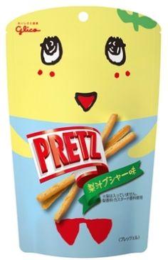 「プリッツ 梨汁ブシャー味」 http://entabe.jp/news/article/3613