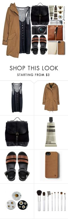 """""""Your Style, Your Music, Your Flavor"""" by strayalley ❤ liked on Polyvore featuring Red Bull, Reiss, Woolrich, Steve Mono, Sony, Aesop, ASOS, AND B, Sonia Kashuk and BOBBY"""
