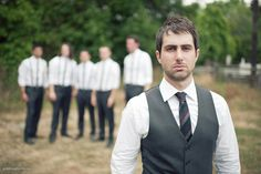 Groom in vest, guys in suspenders?  http://www.howtoplanyourownweddingonabudget.com/weddingphotographerhiringtips.php has some tips and advice on how to find the perfect photographer to capture all the special moments at your wedding.