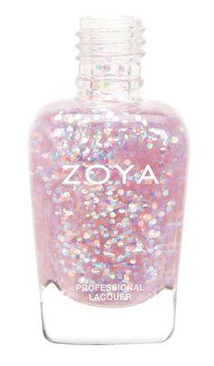 """Zoya Spring 2014 """"Monet"""" - holo glitter topper"""