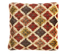 Cross Stitch Charts, Cross Stitch Patterns, Needlepoint Pillows, Ribbon Art, Bed Design, Sewing Clothes, Cushion Covers, Bohemian Rug, Cushions