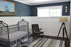 Braylen's World Traveler Nursery #blue