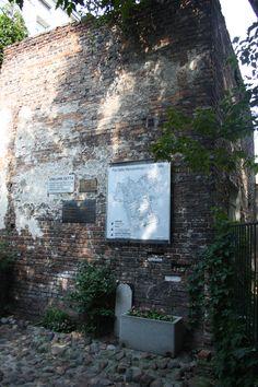Morceau du mur du ghetto de Varsovie
