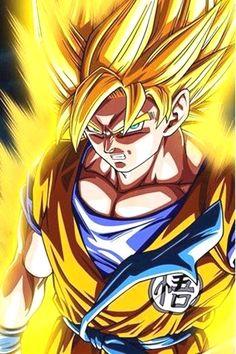 The golden warrior, #Goku.