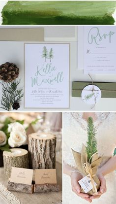 NooneyArt Designs - hand made, watercolor wedding invitations and stationery