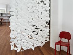 Divisória ROOM DIVIDER FACET by bloomming design Bas van Leeuwen, Mireille Meijs
