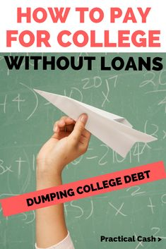 Ways to Pay for College Without Student Loans - Pay off credit card - How long to Pay off credit card? - How to Pay for College without Student Loans Apply For Student Loans, Paying Off Student Loans, Student Loan Debt, Saving For College, College Hacks, How To Pay For College Without Loans, College Invest, College Guide, College Planning