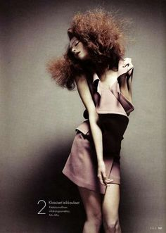 Military Miniskirts: Elle Finland's 'Period of Six Main Lines' is a Jumble of Fashion Photography Lund, Swedish Fashion, The Allure, Ginger Snaps, Beauty Editorial, Androgynous, Redheads, Red Hair, Pretty In Pink