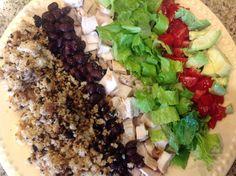 21 day fix burrito bowl (cauliflower rice)
