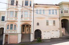 pastel homes, San Francisco 2017