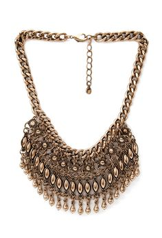 Tribal-Inspired Fringe Necklace - Womens accessories, jewellery and bags | shop online | Forever 21 - 1000082939 - Forever 21 EU
