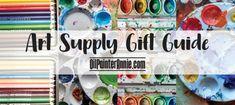 Oil Painters, Painters Tape, Watercolor Brush Pen, Watercolor Paper, Art Bin, Sharpie Paint, Paint Markers, Last Minute Gifts