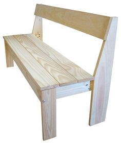 1000 images about bancas on pinterest benches tulum for Banco de jardin de madera