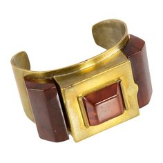 Flamand JOSEPHINE BAKER  Cuffed Compact | From a unique collection of vintage cuff bracelets at http://www.1stdibs.com/jewelry/bracelets/cuff-bracelets/