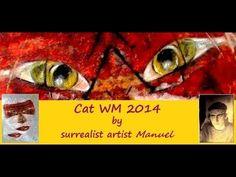 Cat WM 2014 mixed media https://www.manuelmykonos.com