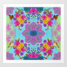 Spring Reflection Art Print by Chelsea Dunn - $16.00