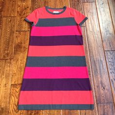 Calvin Klein sweater dress Vibrant and colorful sweater dress. Excellent condition. Calvin Klein Dresses