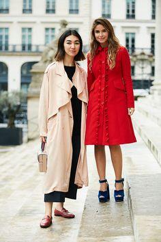 Неделя высокой моды в Париже, осень-зима 2017: street style. Часть 2 (фото 1)