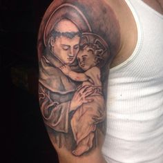 St Anthony tattoo ,