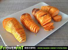 Crispy Oven Baked Sweet Potatoes