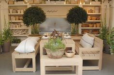 Daylesford Organic garden shop - gorgeous contemporary country elements for the garden with a little French influence of course!