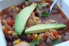 Lauren's Menu: Mexican Chicken Soup - Crock Pot