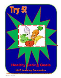 This self assessment asks students to look at their current eating habits and to set goals for improvement. Topics covered include:  eating three healthy meals, drinking health, drinking water, eating fruits and vegetables and choosing healthy snacks.