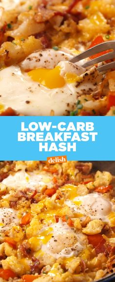 Low-Carb Breakfast Hash Delish… – All Keto Recipes No Carb Breakfast, Sausage Breakfast, Best Breakfast, Breakfast Recipes, Breakfast Ideas, Dessert Recipes, Desserts, Low Carb Keto, Low Carb Recipes