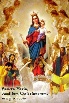 Resultado de imagen de Sancta Maria Auxilium Christianorum