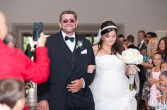 Father and Bride.so adorable Got Married, Getting Married, Our Wedding, Father, Bride, Wedding Dresses, Beautiful, Fashion, Pai