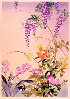 Fuji and Juri by artist Haruyo Morita.  1st place tie in Chinese and Sumi-e contest.  prints/cards available