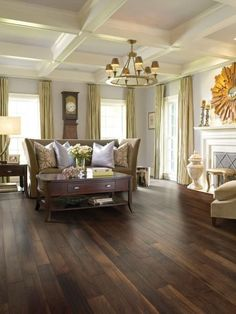 Distressed hardwood