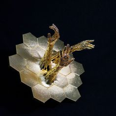 "adalidda:  "" Illustration Photo: 3D printed sculpture by Ashley Zelinskie (credits: NASA's James Webb Space Telescope / Flickr CC BY-NC-ND 2.0)  Influences of three-dimensional printing to product Innovation Design Thinking  Authors: Ling Liu, Xu Wang..."