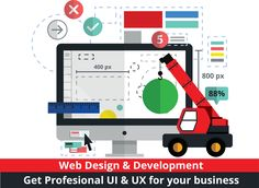 Get a professional website designed for your business with amazing UI & UX…