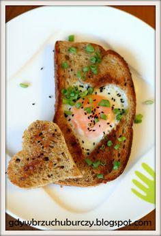 Jajko sadzone w grzance